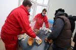 Crveni krst zbrinjava migrante i izbeglice. Gotografija preuzeta sa www.subotica.com