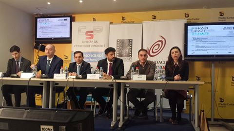 Conference about cooperation between NGO and state institutions has just started in Media Center, Belgrade. #RefugeeCrisis #Migrants Our regional coordinator, Milos Babic is a note speaker.Fotografija: Waha Balkan