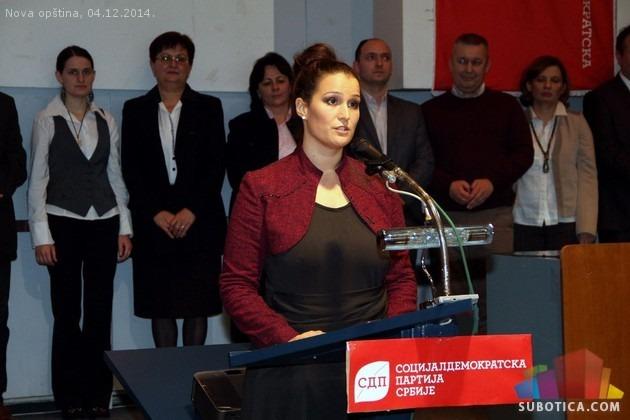 Predsednica GrO SDPS-a Subotica, Nataša Aleksić.