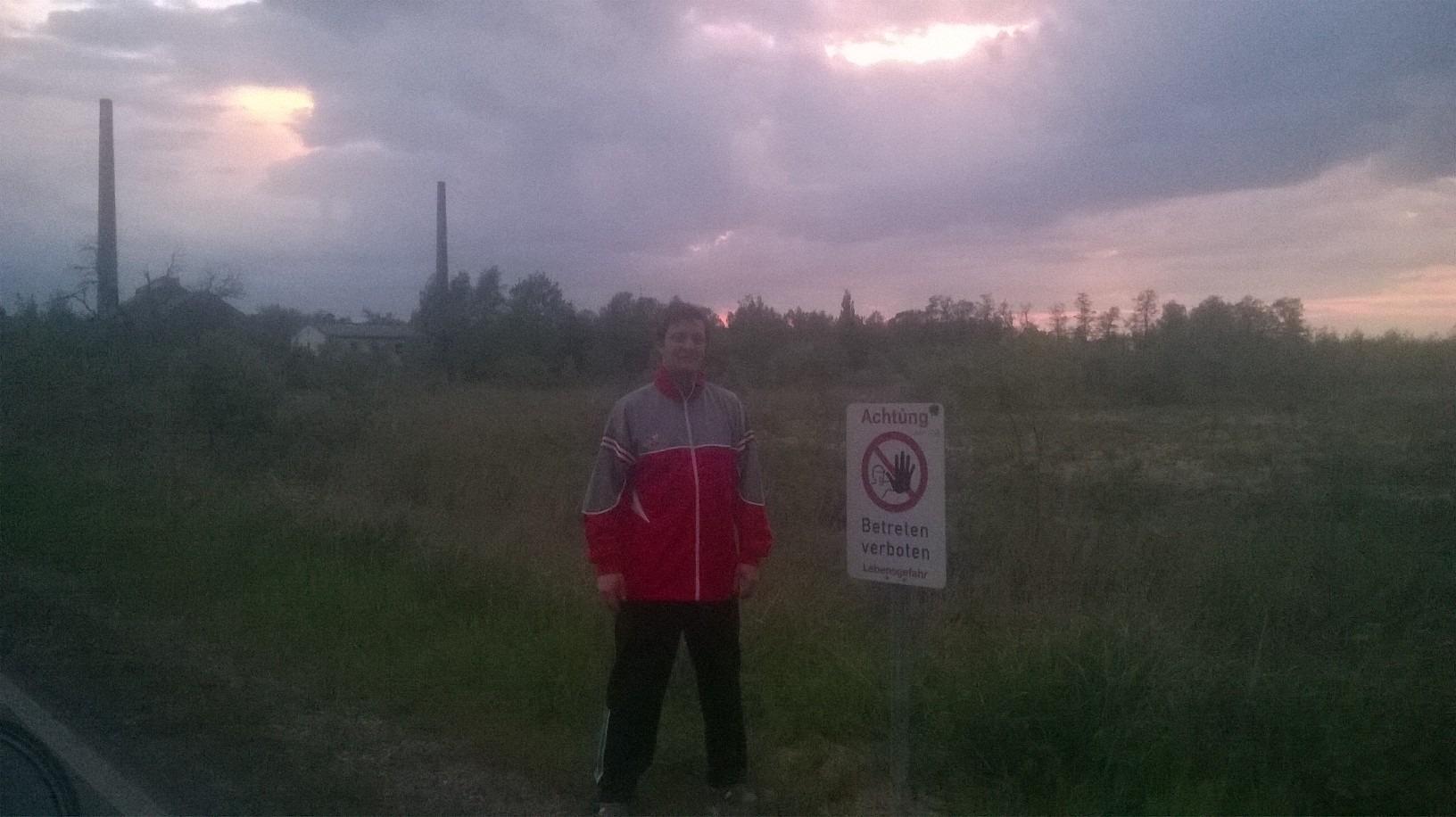 Nikola Perušić na terenu. Novinar, ekolog i prevodilac.