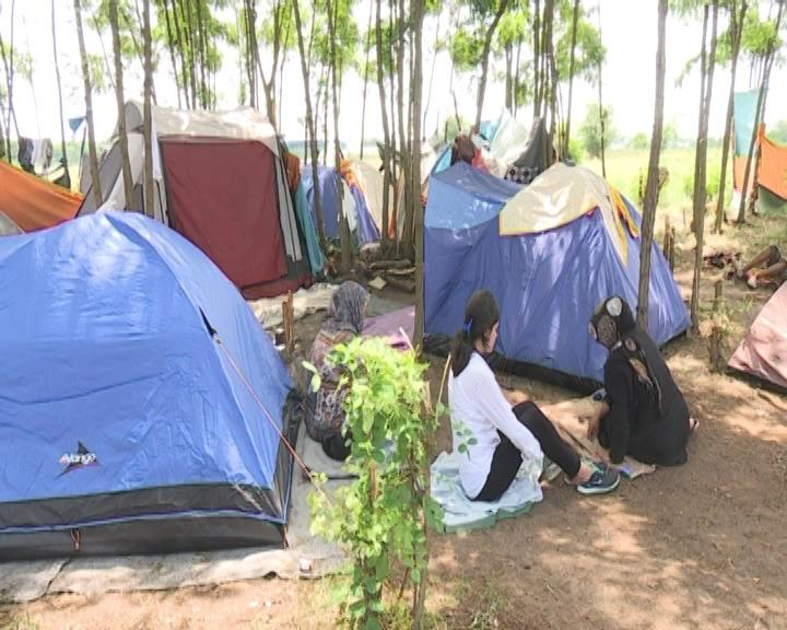 Ilegalni kamp kod Horgoša 1.