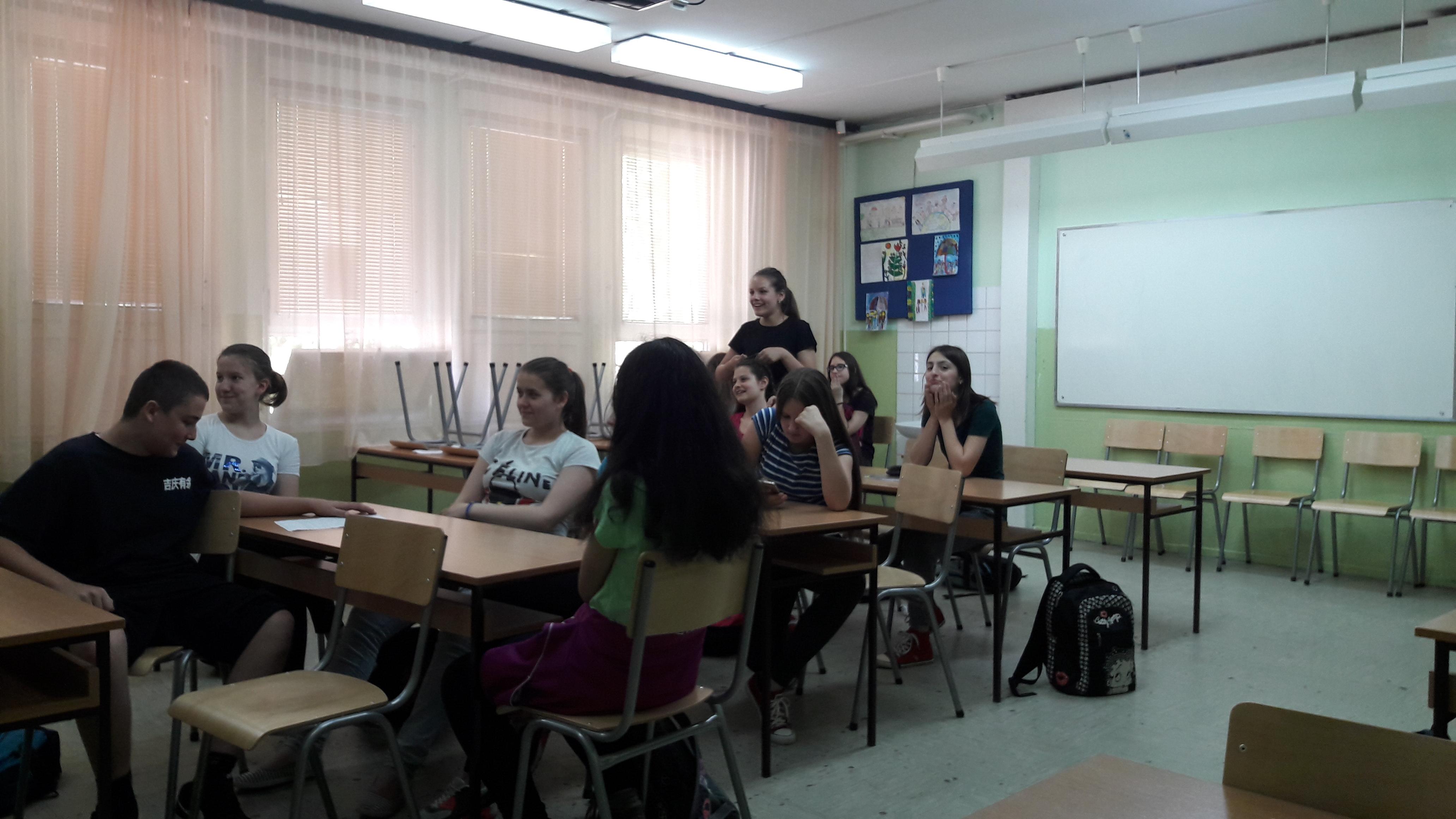 Kako učenici vide put migranata.