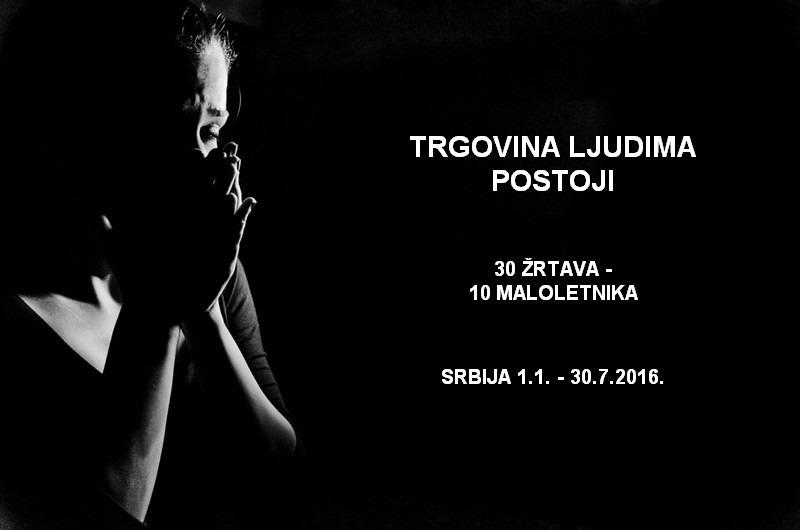 Svako može biti žrtva trgovine ljudima. Fotografija preuzeta sa sajta: tijana.rs