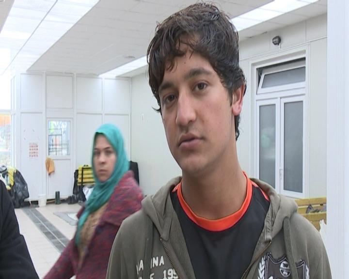 Irfan iz Avganistana. Zajedno održavamo kampove.
