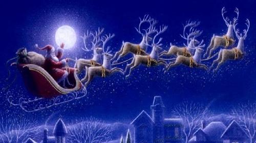 Deda Mraz i njegovi pomagači.