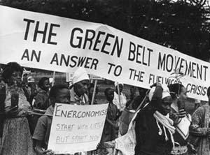 Ekološki pokret u Keniji koji je isto tako  prigrlio značaj drveća.