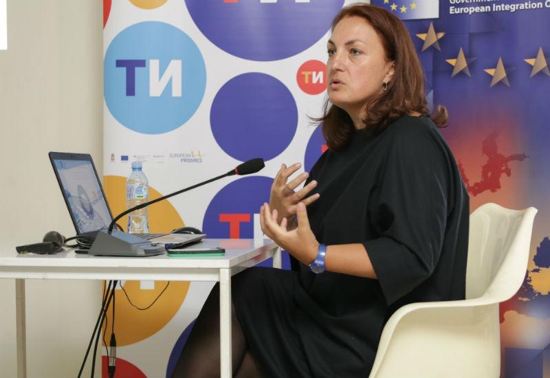 Ivana Đurić, pomoćnica direktora u Kancelariji za evropske integracije, u Sektoru za komunikacije i obuku