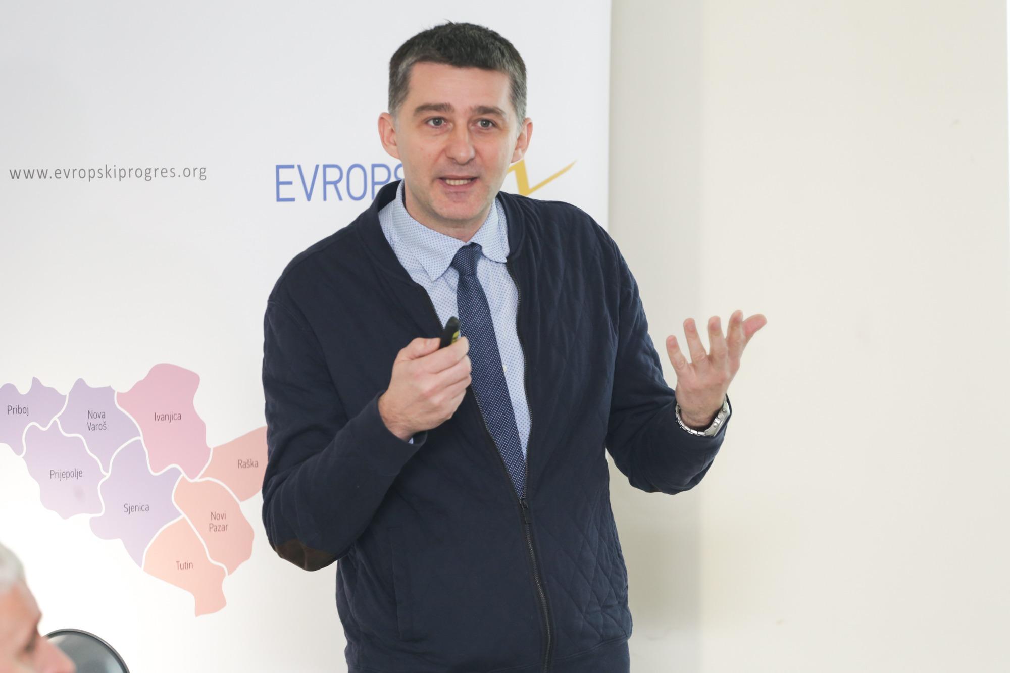 Marko Vujačić, nacionalni menadžer Evropskog PROGRESa