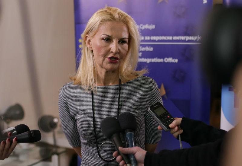 Tanja Miščević, šefica Pregovaračkog tima za vođenje pregovora o pristupanju Republike Srbije Evropskoj uniji