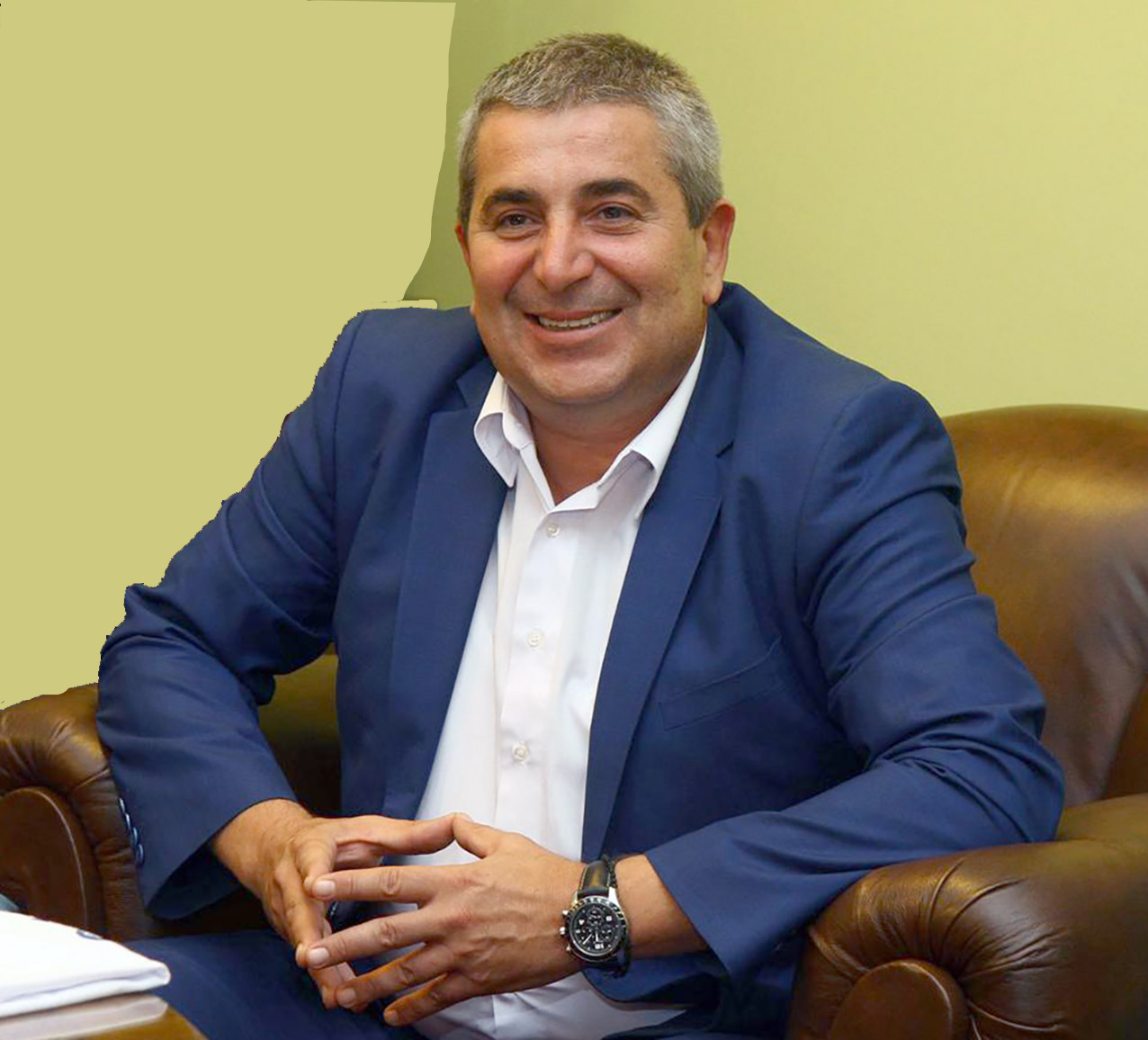 Gradonačelnik Subotice, Bogdan Laban.