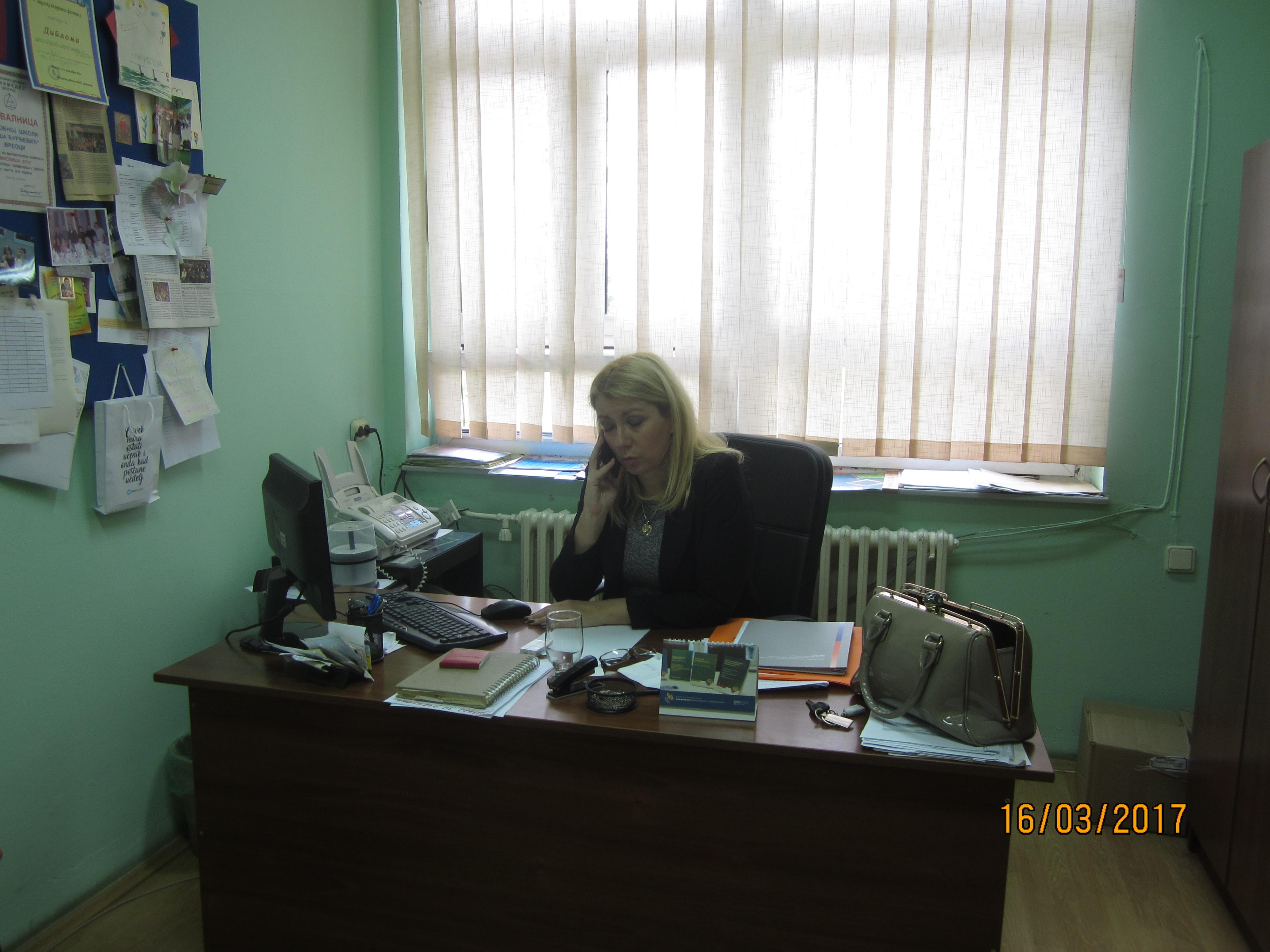 Direktorka Mirjana Joksimović